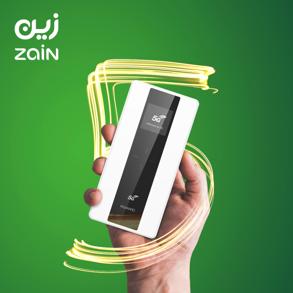 Zain Ksa Offers 5g Enabled Mifi Devices